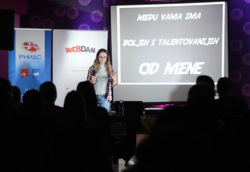 WebDan 2016 - Milena Dragićević - Foto: Bor030.net